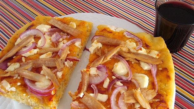 """Pizza """"Cebreira"""", con queixo do Cebreiro"""
