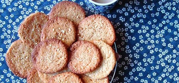 Galletas de manteiga de cacahué