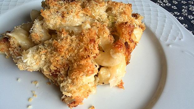 Macarróns ao forno con queixo – Mac'n'cheese